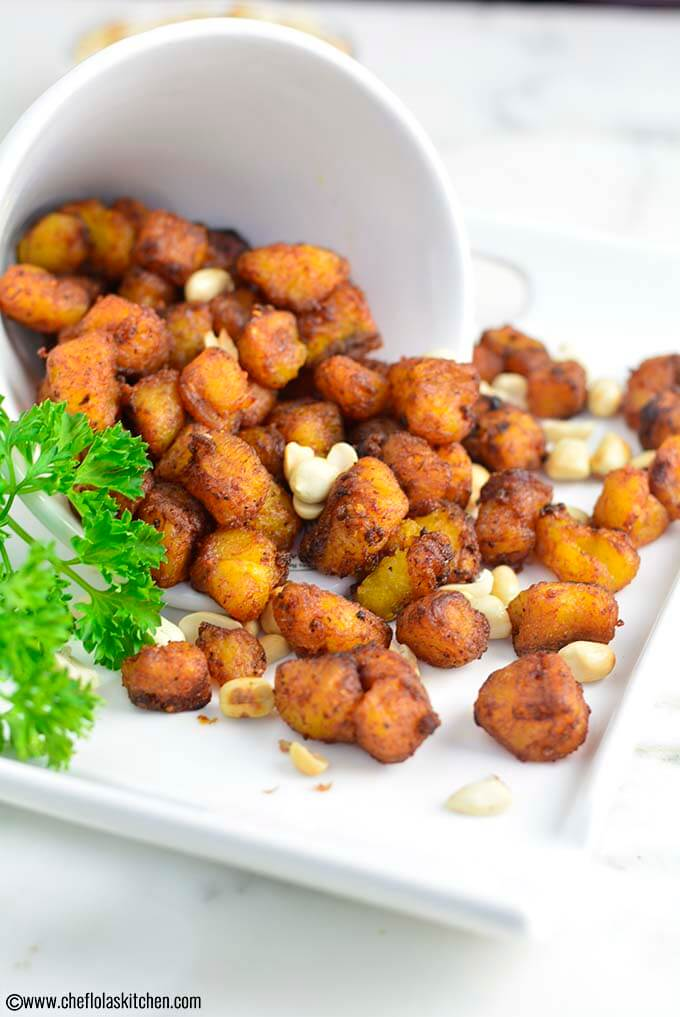 Easy Kelewele - Spicy Fried Plantains